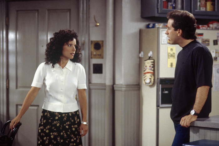 Julia Louis-Dreyfus and Jerry Seinfeld on