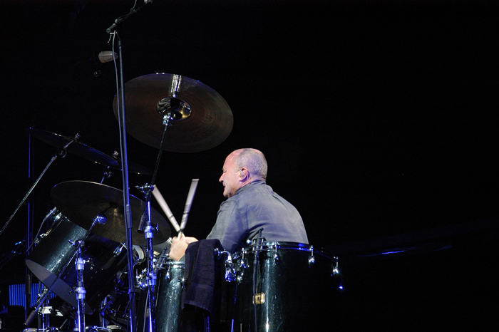 Phil Collins in concert in 2004