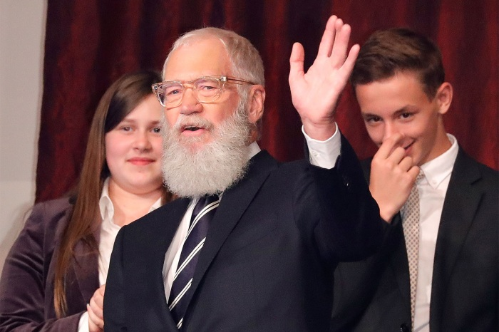 David Letterman receives the Mark Twain Prize for Humor