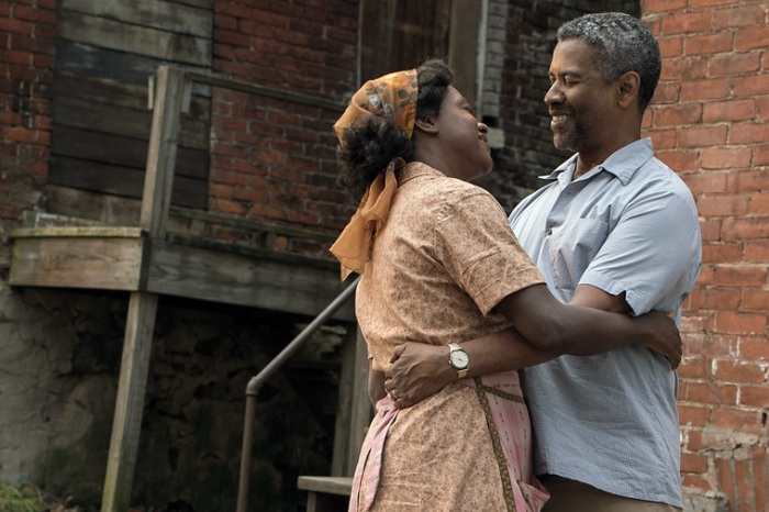 Viola Davis and Denzel Washington in