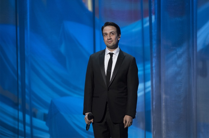 Lin-Manuel Miranda at the 89th Academy Awards