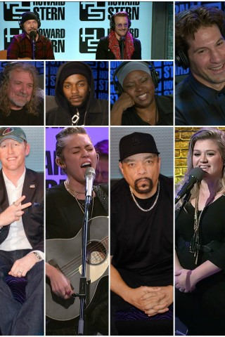 Stern Show Guests Who Made Their Debuts in 2017