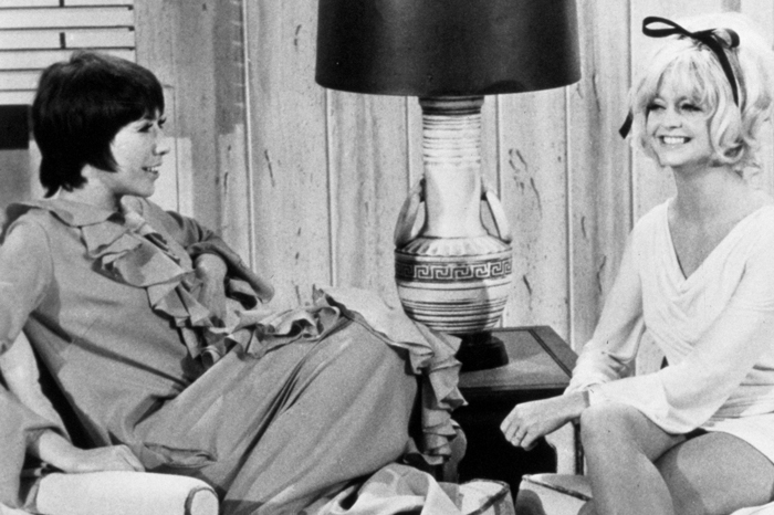 Lily Tomlin and Goldie Hawn on