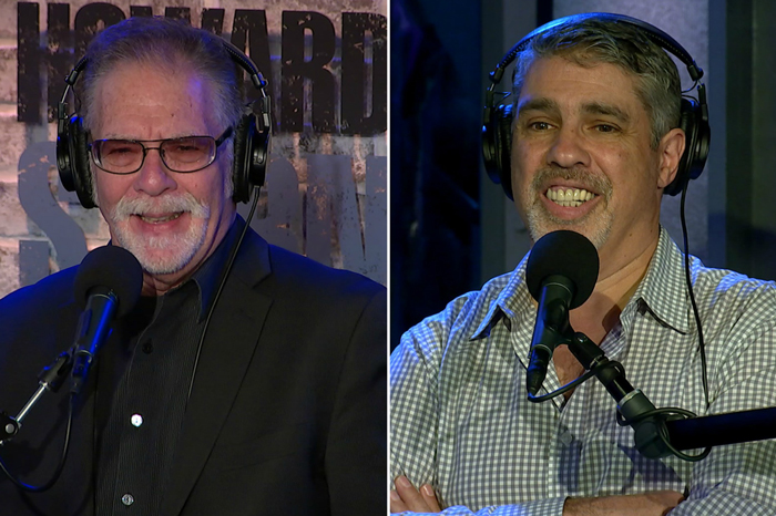Ronnie Mund and Gary Dell'Abate faced off on Tuesday's Stern Show