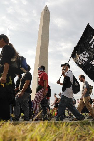 Wolfie Marches on Washington With the Juggalos