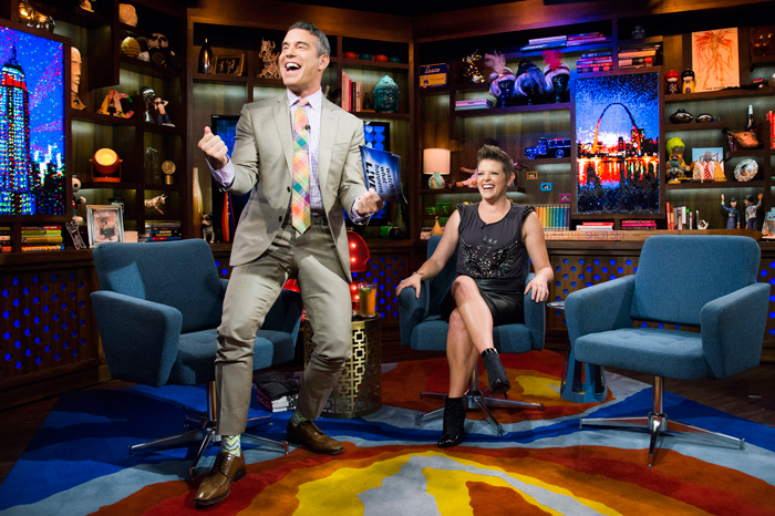 Andy Cohen and Natalie Maines on