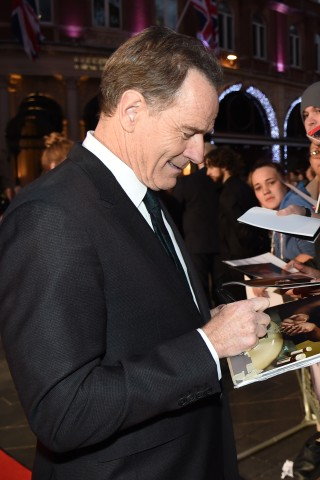 Bryan Cranston Retires From Signing Autographs