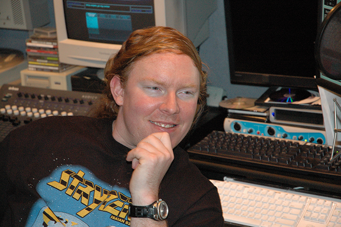 Richard Christy's hair in 2005