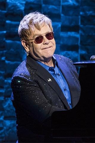 Ed Sheeran, Chris Martin Celebrate Sir Elton John
