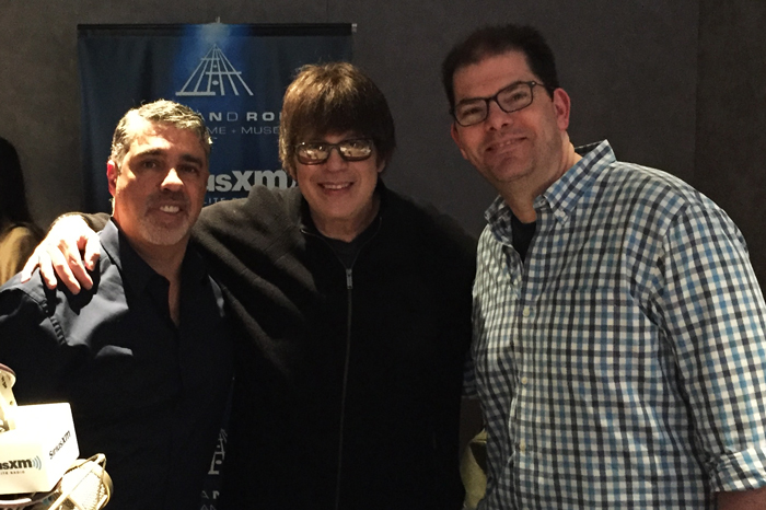 Gary Dell'Abate and Jon Hein with Elliot Easton from the Cars