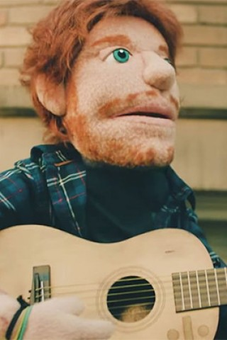 Ed Sheeran Plays a Heartbroken Puppet in 'Happier'