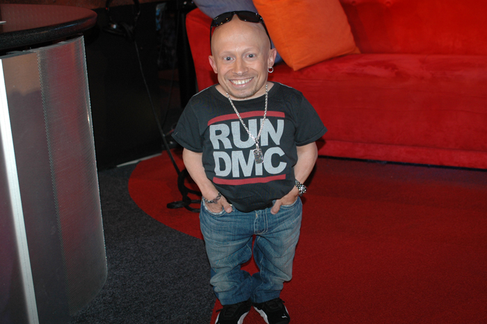 Verne Troyer visits the Stern Show in 2008