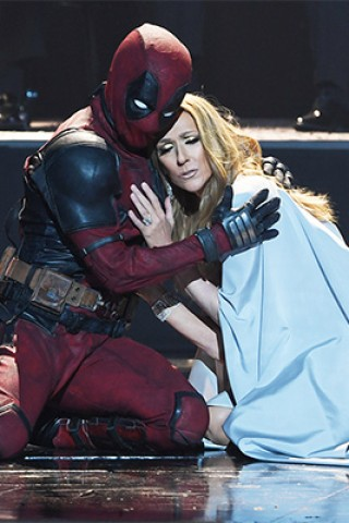 Ryan Reynolds' Deadpool Crashes Celine Dion Video