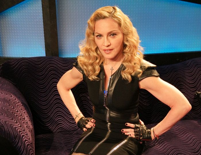 Madonna on the Stern Show in 2015