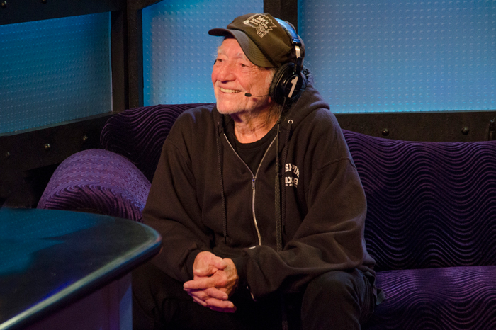 Willie Nelson on the Stern Show in 2012