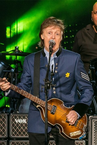 Paul McCartney's New Song & Stern Show Visit