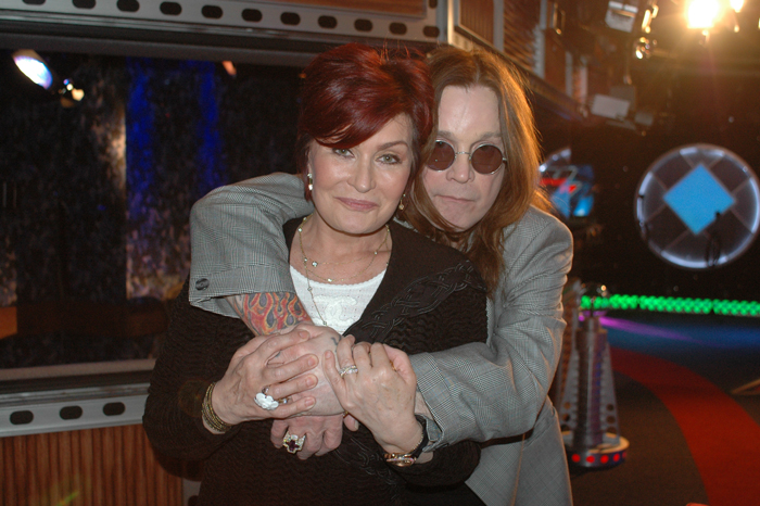 Sharon and Ozzy Osbourne on the Stern Show in 2009
