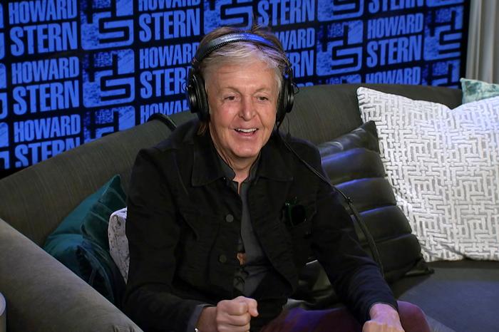 Paul McCartney on the Stern Show in September