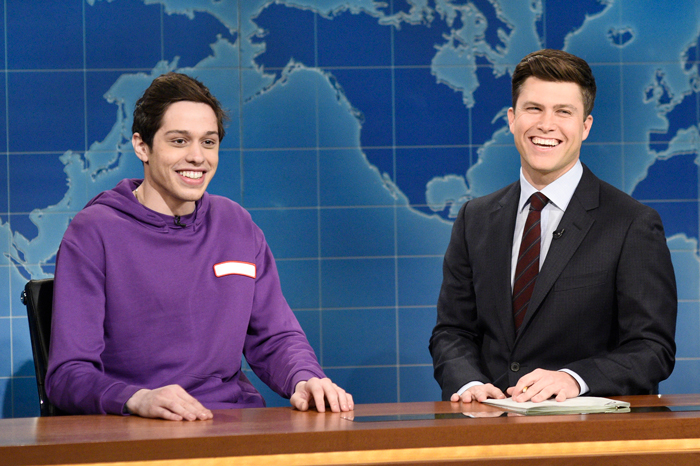 Pete Davidson and Colin Jost on