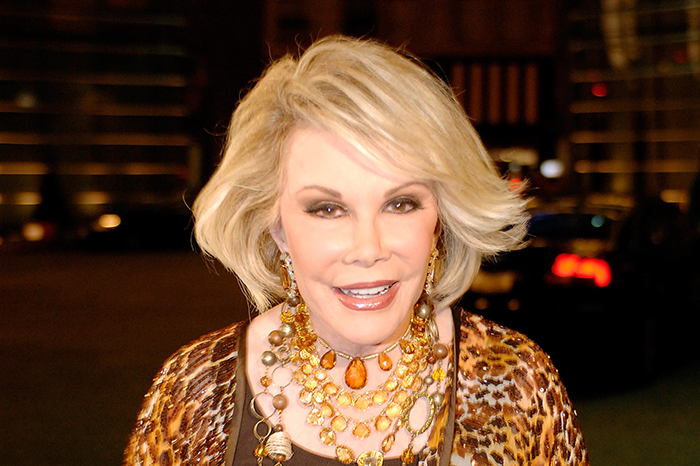 Joan Rivers at Howard and Beth Stern's wedding in 2008