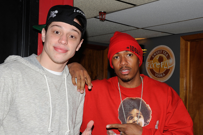 Pete Davidson and Nick Cannon in 2013