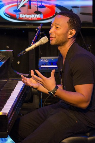 John Legend Covers Springsteen on the Stern Show