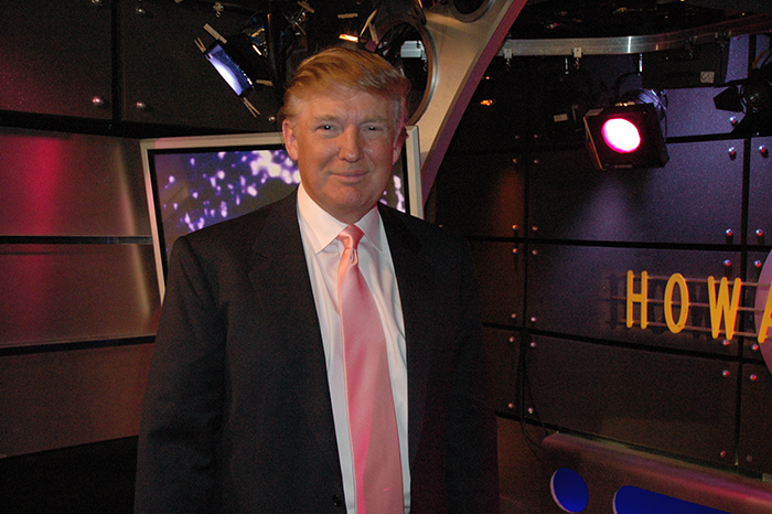 Donald Trump on the Stern Show in 2005