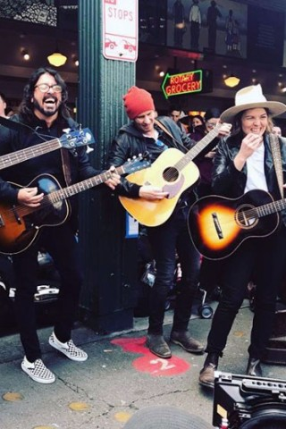 See Brandi Carlile & Dave Grohl Cover the Beatles