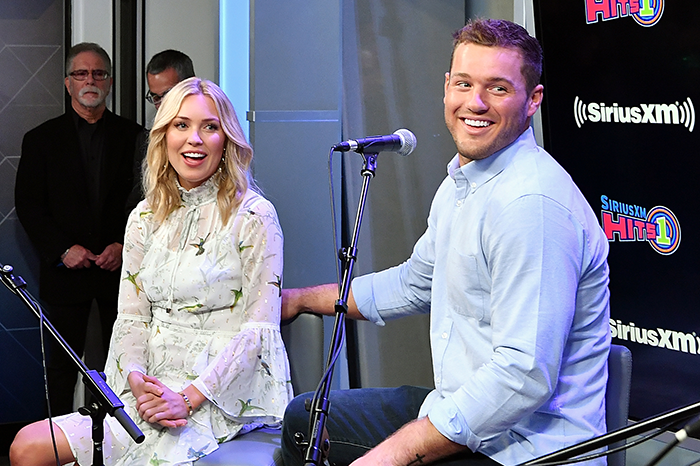 Cassie Randolph and Colton Underwood on SiriusXM Hits1