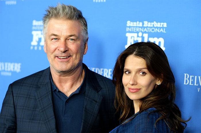 Alec Baldwin and Hilaria Baldwin at the 33rd Santa Barbara International Film Festival in 2018