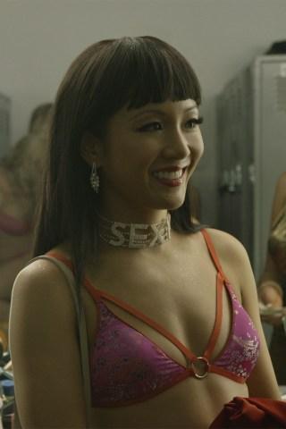 Constance Wu Gives Cardi B a Lap Dance