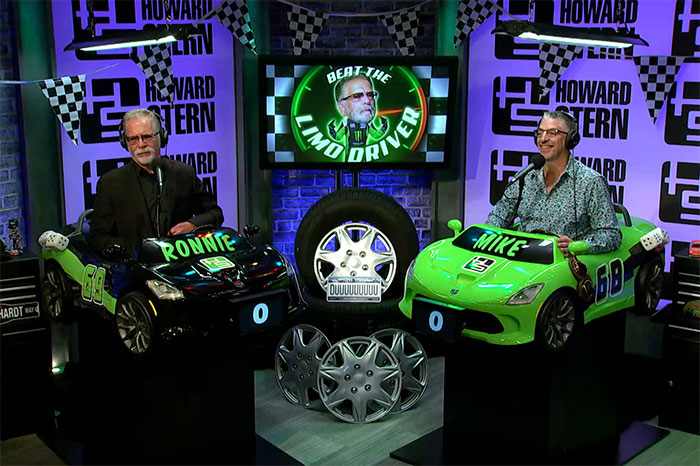 Ronnie Mund and Mike the car expert ready to play Beat the Limo Driver