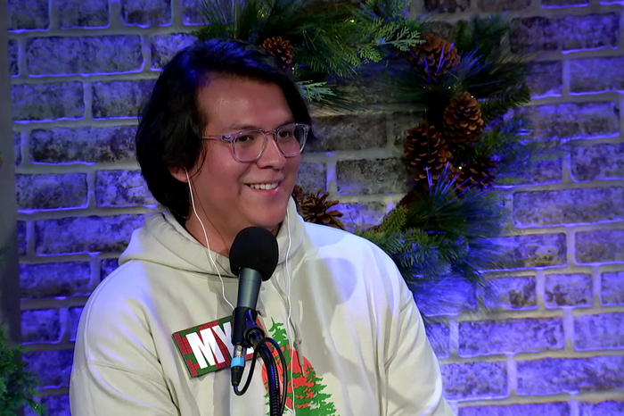 Contestant Myk on the Stern Show