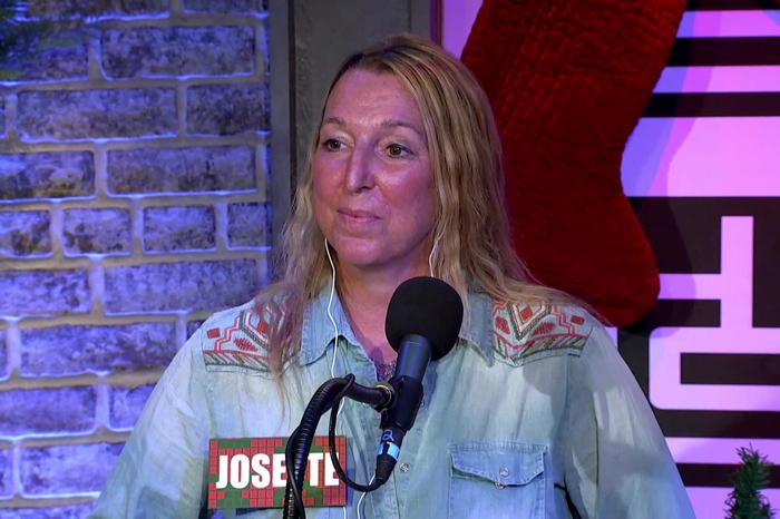 Contestant Josette on the Stern Show