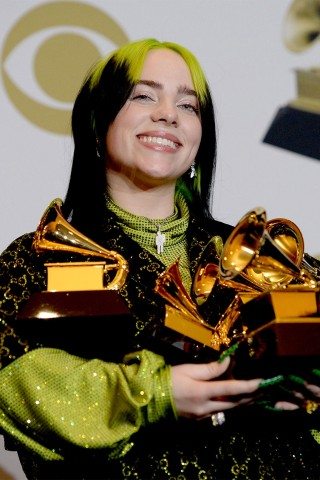 Billie Eilish Takes Top 4 Prizes & Makes History