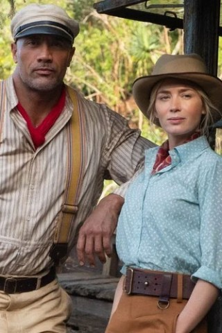 The Rock & Emily Blunt Take a Wild 'Jungle Cruise'