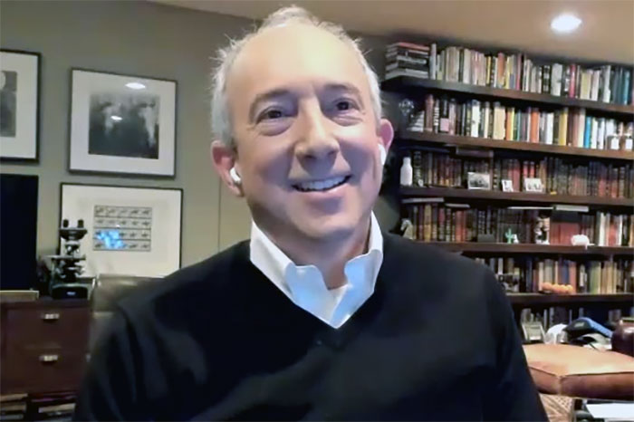 Dr. David Agus live on the Stern Show from his home earlier this year