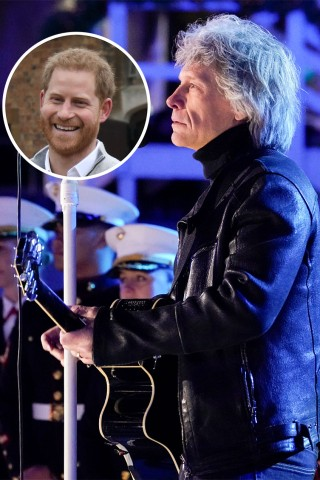 Bon Jovi & Prince Harry Collaborate on 'Unbroken'