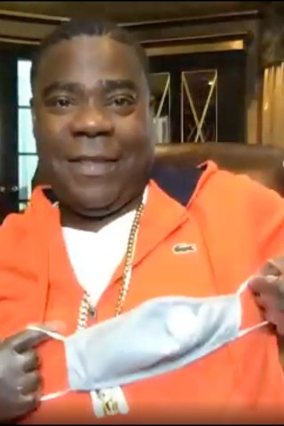 Tracy Morgan on Doing His Part During the Pandemic