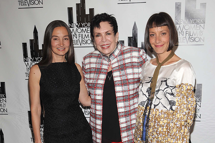 Hollywood hairstylist Colleen Callaghan (center) in 2008.