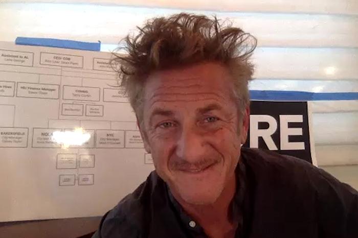 Recent Stern Show guest Sean Penn