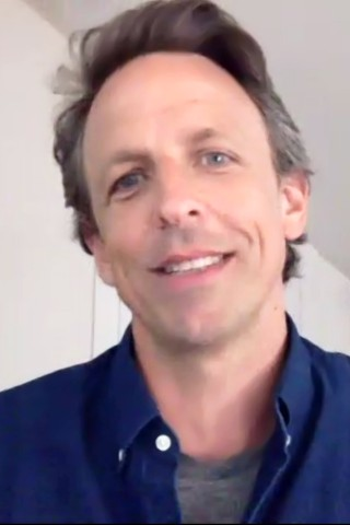 Seth Meyers Joins the Stern Show From His Attic