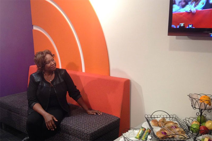 """Robin Quivers at the """"Today"""" show in 2013"""