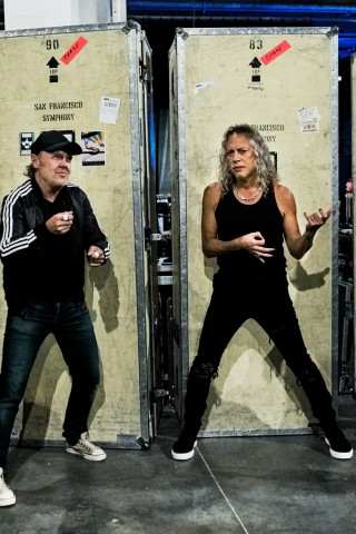 Metallica Rocks the Stern Show From San Francisco
