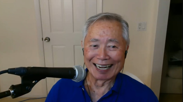 Actor and Stern Show announcer George Takei during his August appearance