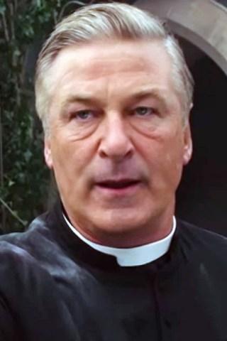Alec Baldwin Plays a Gun-Toting Priest in 'Pixie'