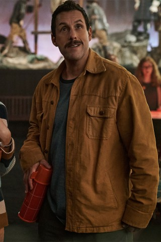 Adam Sandler Thwarts a Spooky Threat in New Comedy
