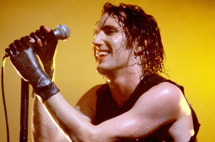 Trent Reznor of Nine Inch Nails performing in 1994