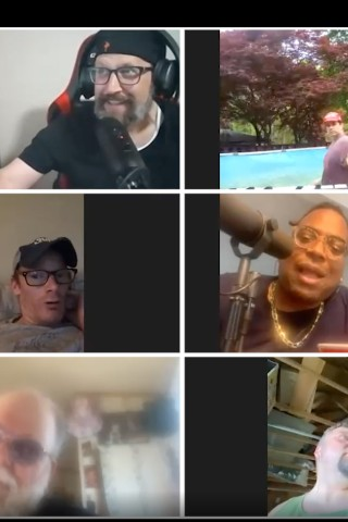 Watch the Chaos of the Wack Pack's Zoom Happy Hour