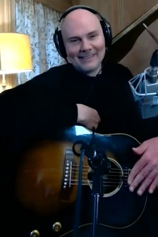 Billy Corgan Performs Live in Stern Show Return